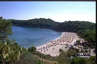 A wonderful beach of Elba Island Tuscany